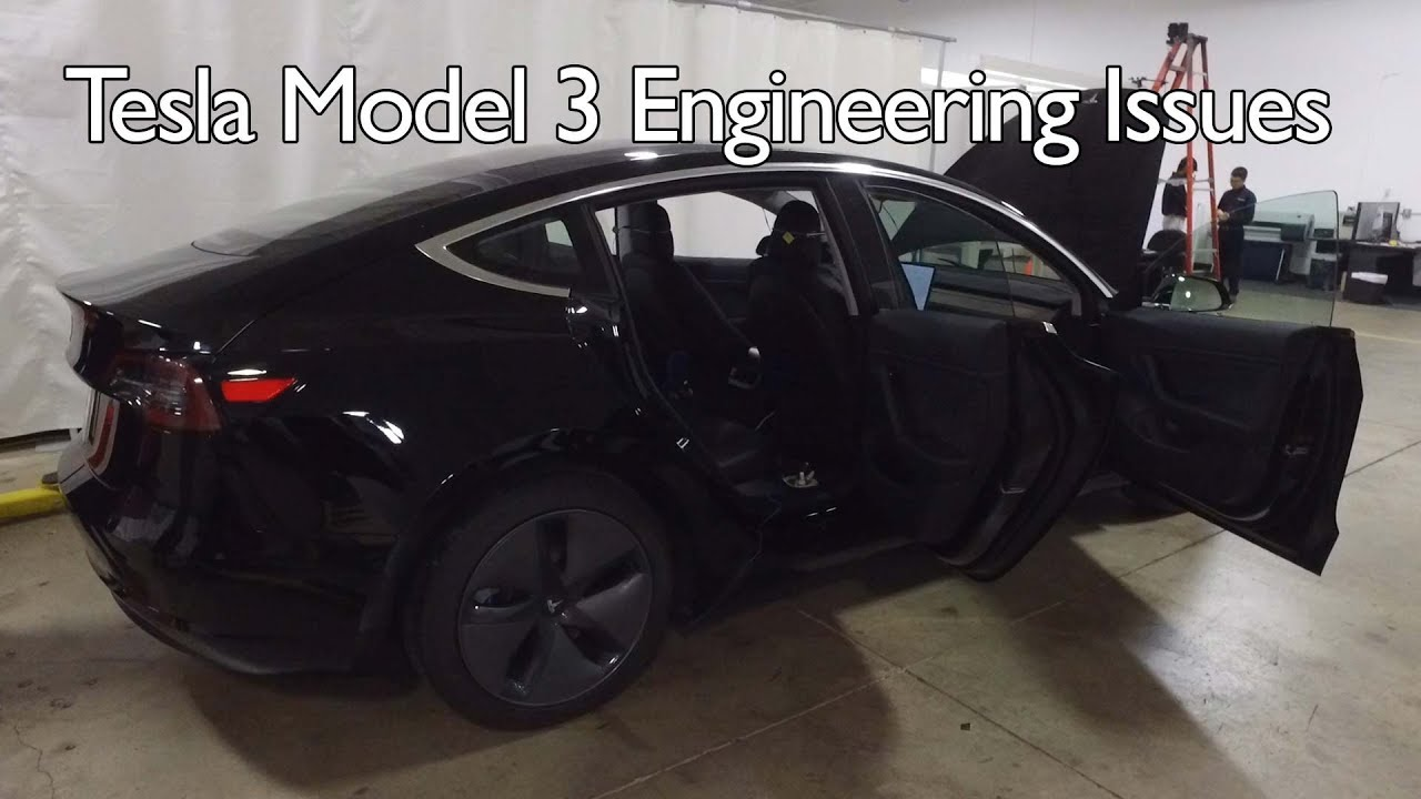 Tearing Into Tesla S Model 3