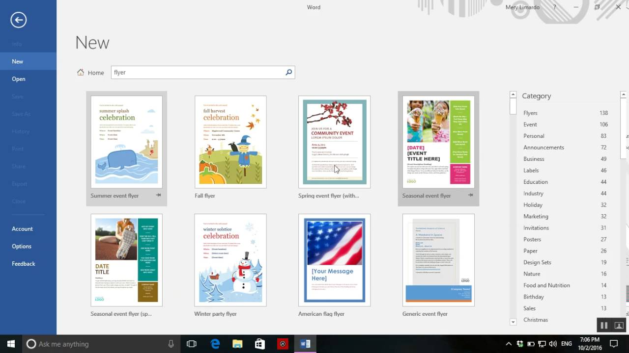 Flyer Gestalten App How To Create A Flyer On Word 2016
