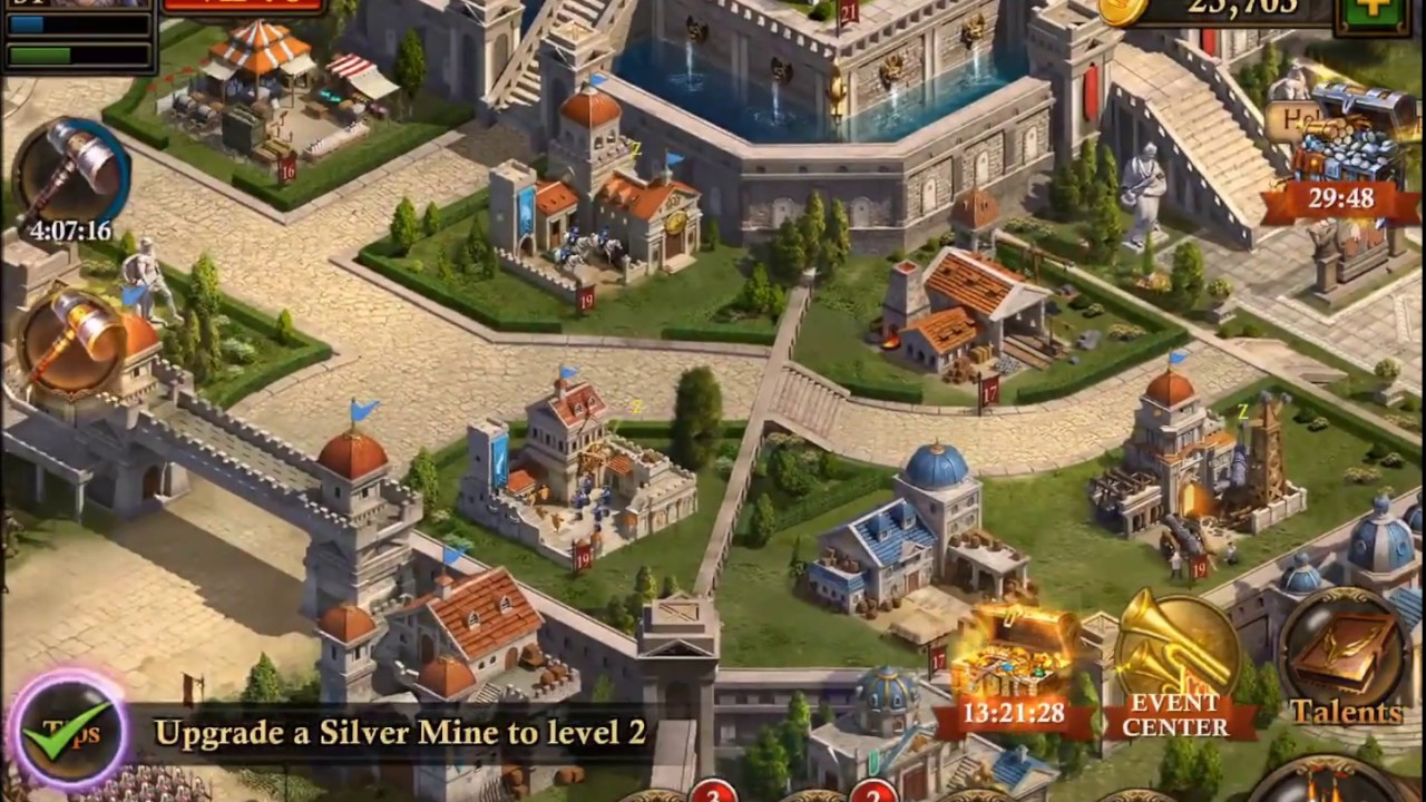 Guns of Glory - Glory Levels