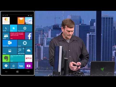 Signum News - Debug, Distribute and Web on Universal Windows Platform at Microsoft Build 15 - Part 2
