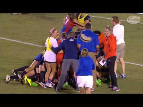 Florida Soccer: Liz Slattery Golden Goal 10-22-15