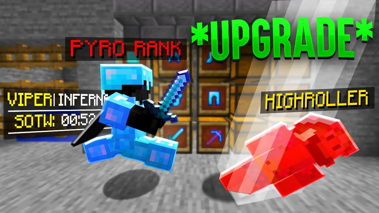 Minecraft HCF, But I Steal Player's Ranks... *SOTW*