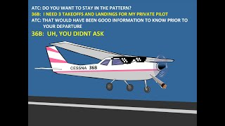 Hilarious Exchange Between Student Pilot and Controller at KJLN