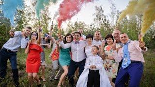 Супермегапозитивная свадьба  Евгения и Татьяны