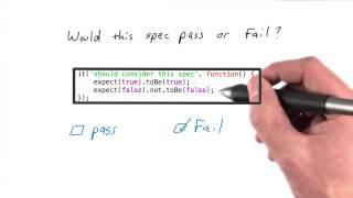 Multiple Tests per Spec Solution - JavaScript Testing