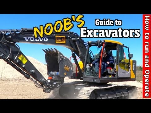 Noobs Guide On How To Run An Excavator Pt 2