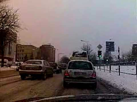 Weather in Vilnius, Lithuania, 2010-02-01 from Oras TV