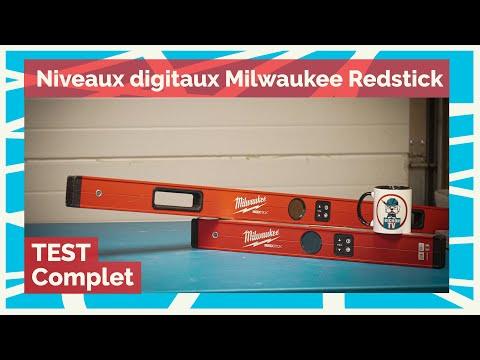 TEST ✅ Milwaukee - Niveaux digitaux de 60 et 120 cm Redstick  - La pause café de BichonTV