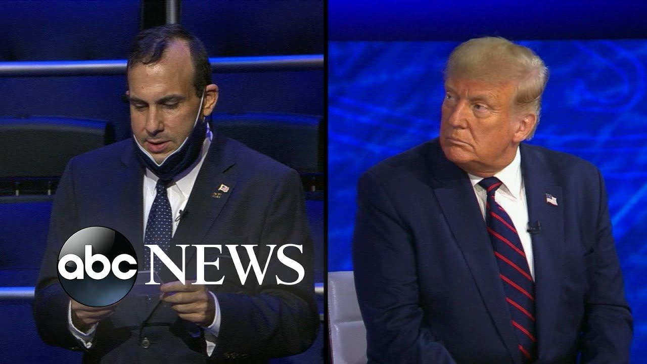 Trump On Abc News Town Hall We Ve Done A Tremendous Job With Covid 19 Response Youtube