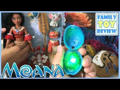 Disney Moana Singing Feature Doll - Badanamu Mimi Sings Moana Maui 모아나 마우이 바다나무 미미 Toy Review Vaiana