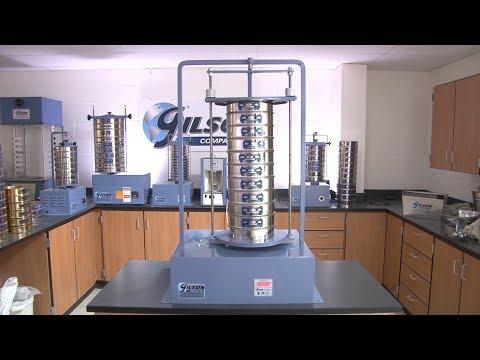 Gilson Sieve Analysis Equipment