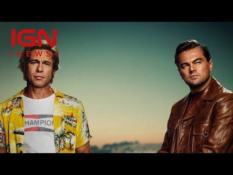 Tarantino's Once Upon a Time in Hollywood First Poster Released - IGN News