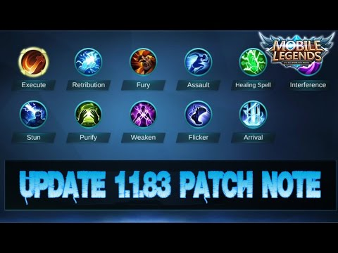 Mobile Legends - Update 1.1.83 Patch Note   Hero Balance Changes ...