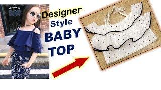 Diy Designer Baby Dress Cutting & Stitching Full Tutorial||Part-1