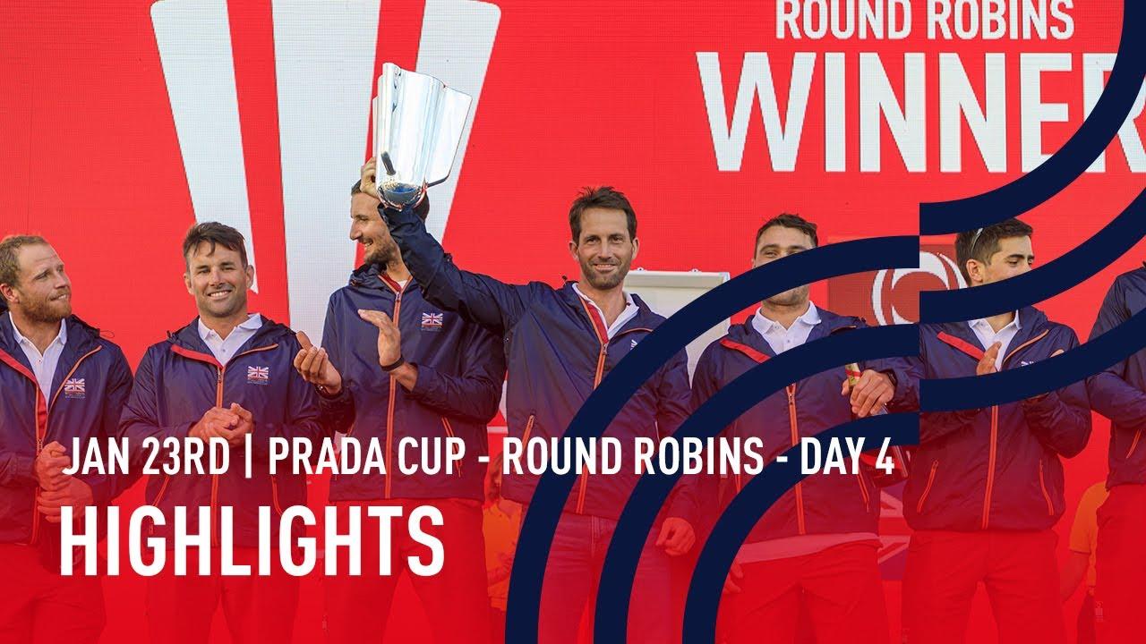 PRADA Cup Day 4 Highlights