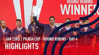 PRADA Cup Day 4 Highlights