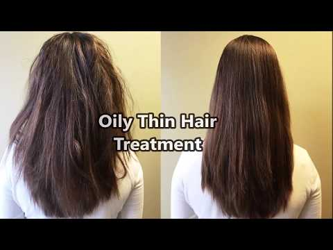Oily and Thin Hair Treatment