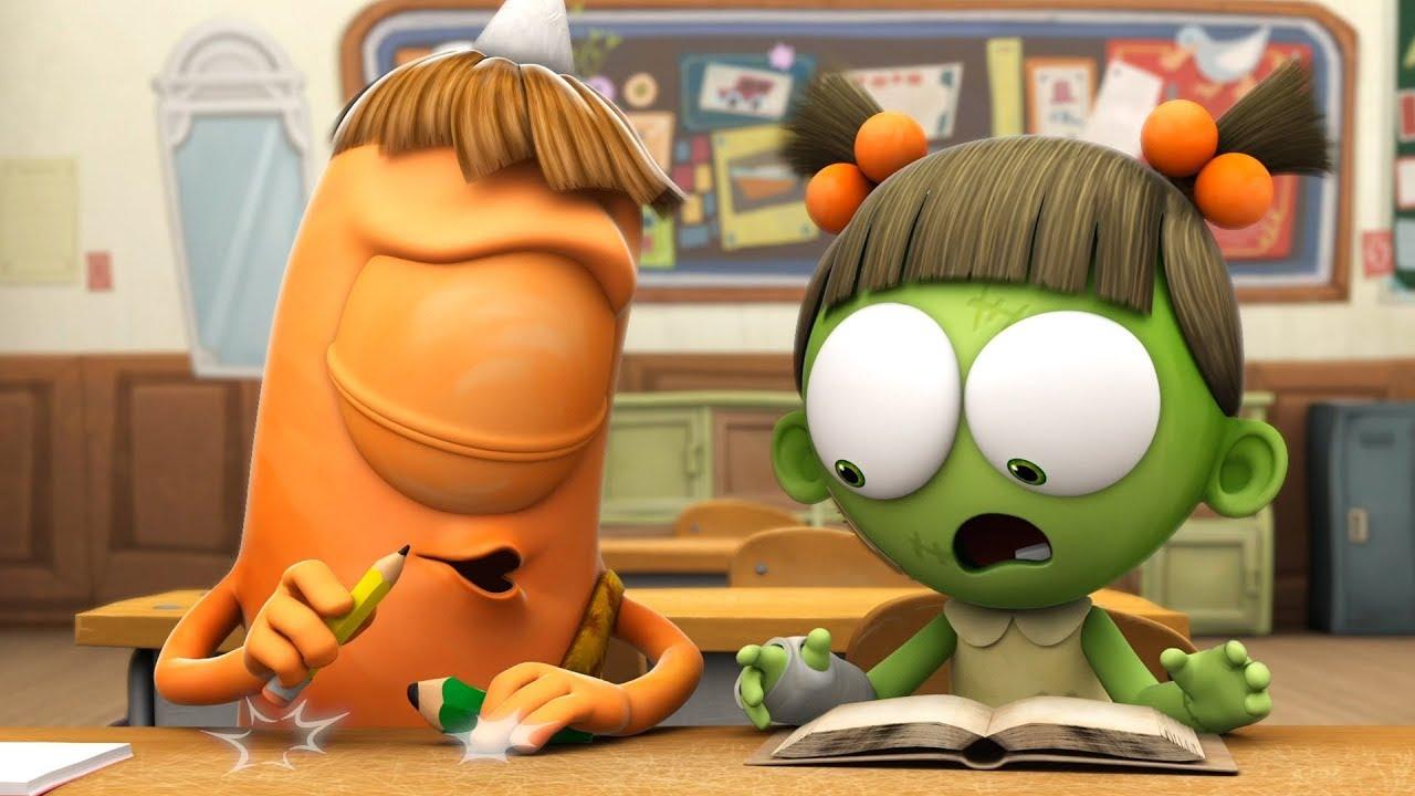 Spookiz zombie school 스푸키즈 kids cartoons videos for kids