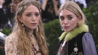 01/05/17 - Mary-Kate & Ashley Olsen attend the 2017 Met Gala