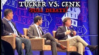 FULL Tucker Carlson vs. Cenk Uygur of Young Turks Debate - Politicon 2018! (BEST Audio & Video)