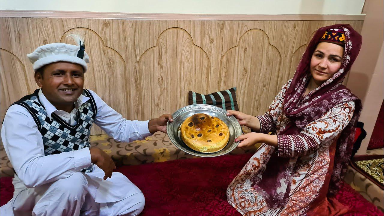 Walnut Cake Recipe | Akhrot Cake | Without Oven | Hunza Valley Northern Pakistan | Mubashir Saddique
