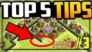 TOP 5 Base Design TIPS in Clash of Clans! Farm to MAX #3