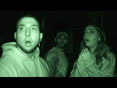 OVERNIGHT IN USA's MOST HAUNTED GHOST TOWN! (We weren't alone)