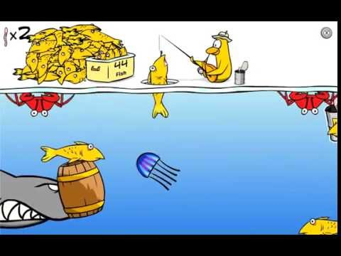 Club Penguin - How To Catch The Mullet Fish In Ice Fishing