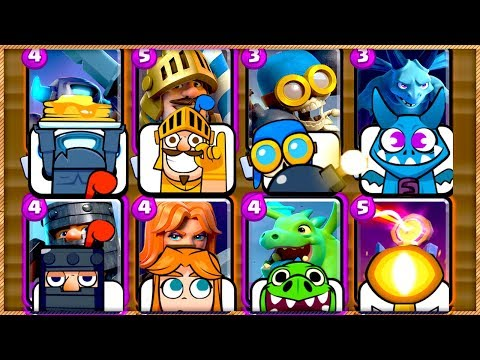 EVERY CARD HAS AN EMOTE CHALLENGE in CLASH ROYALE!