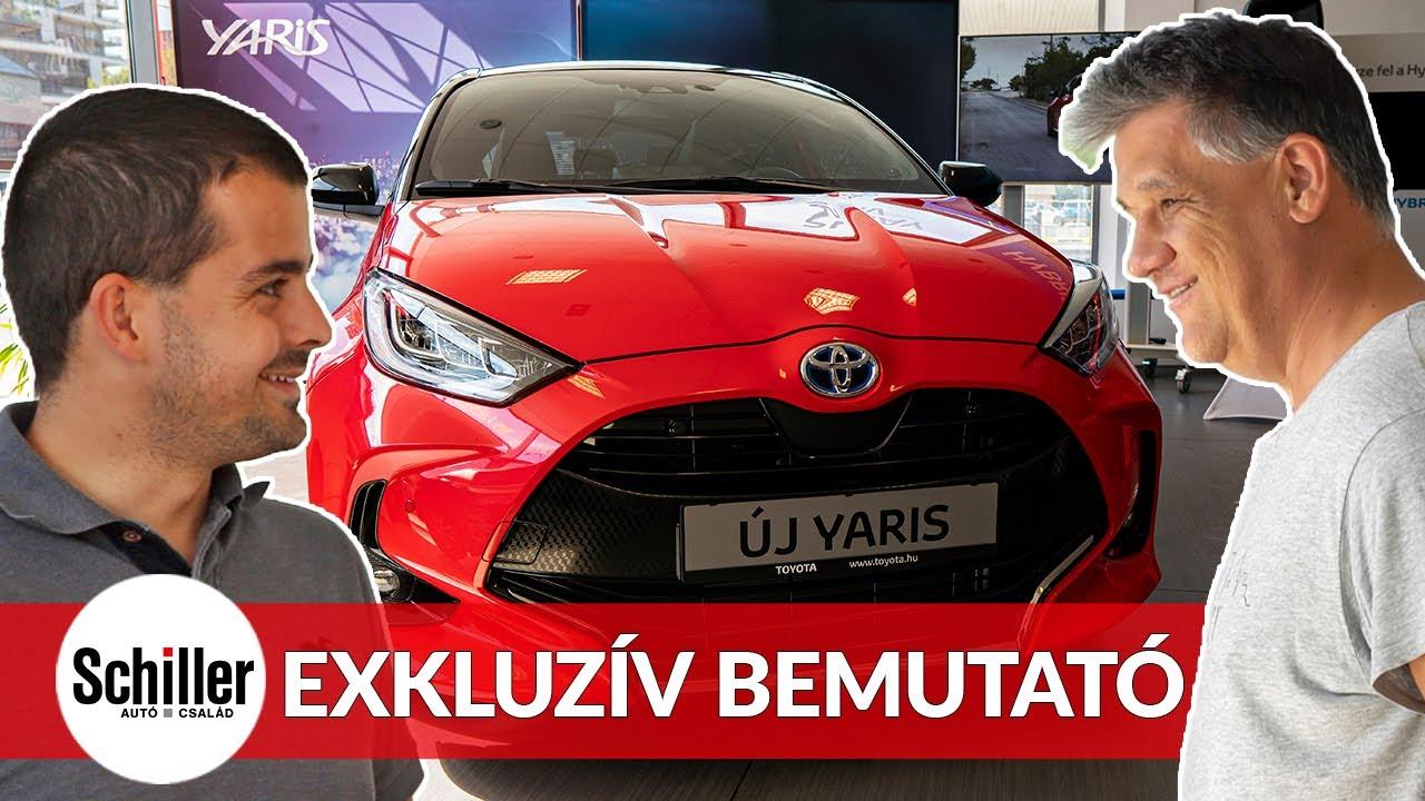 Új Toyota Yaris 2020 exkluzív bemutató I Schiller TV