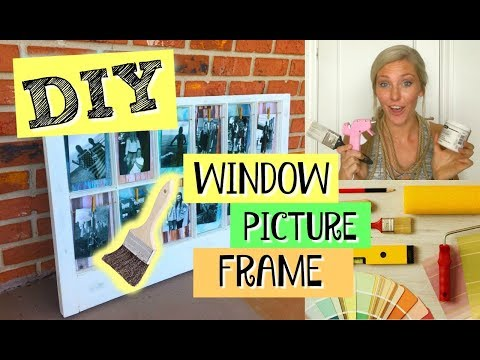 DIY | Vintage Window PICTURE FRAME