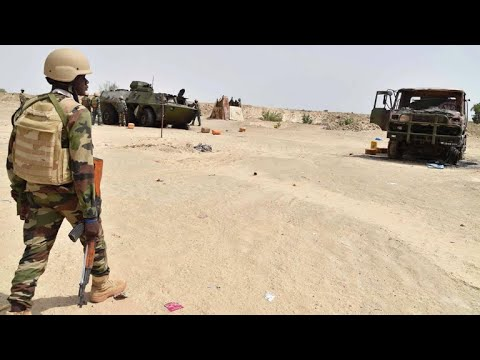 Where does the U.S. have troops in Africa, and why?