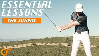 SIMPLE GOLF SWING LESSON - ESSENTIAL LESSONS FRO NEW/BEGINNER GOLFERS