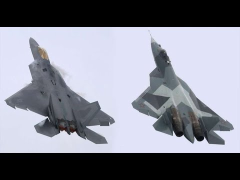Download This is a Reason, Su-57 the Next Generation Russian Fighter Can Beat Americas F-22 and F-35