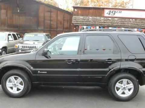 2007 Ford Escape Hybrid 4wd 4dr Angels Camp California