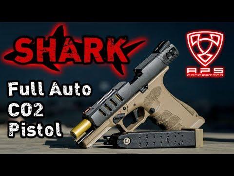 APS Shark - The Full Auto CO2 Pistol Predator