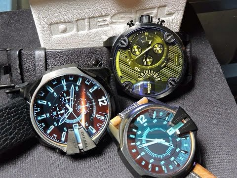 Diesel Watch DZ1600 Unbox Review And Explanation