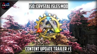 ARK: Survival Evolved | ISO: Crystal Isles Mod | Content Update Trailer #1