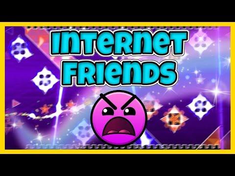 Geometry Dash 20   Internet Friends  NiceGreen INSANE