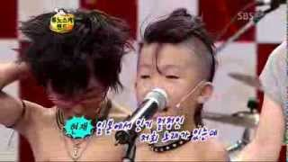 Japanese kids band on Korean TV 2/2(Eng Subbed)