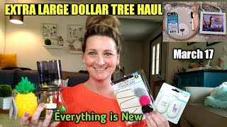 EXTRA LARGE Dollar Tree Haul💫NEW ITEMS💫 Funny Ending 😄