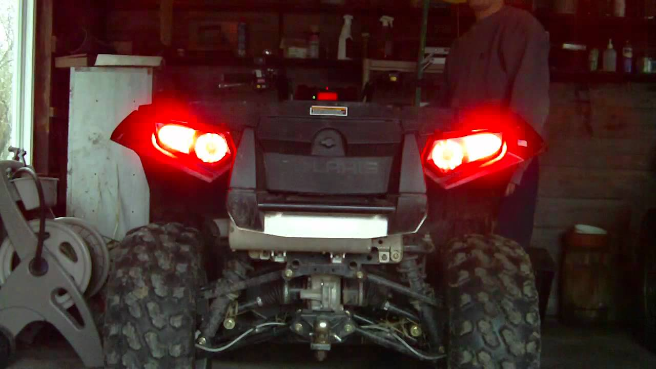 Polaris Sportsman 850 Xp Led Lights Youtube