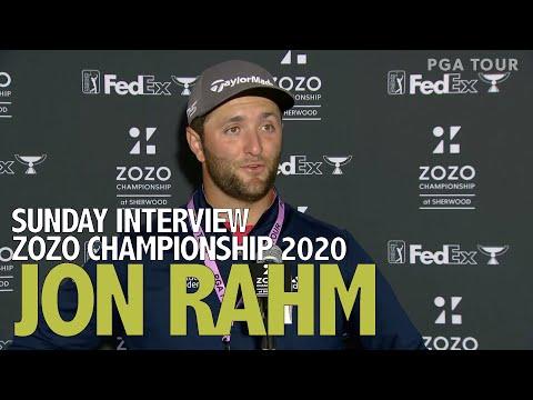 Jon Rahm Sunday Flash Interview 2020 Zozo Championship @ Sherwood - Final Roud