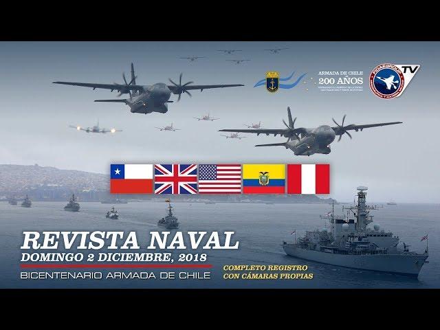 Revista Naval 2018 en Bicentenario Armada de Chile (El mundo rinde honores)