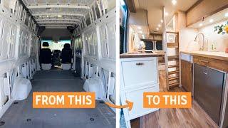 Our QUARANTINE VAN BUILD is FINISHED » Sprinter Van Build