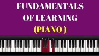 Learning Piano ( Step by Step)- Full 5 Hour Downloadable Video Course Available