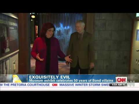 International Spy Museum Celebrates 50 Years of Bond Villains: CNN's Barbara Starr Reports