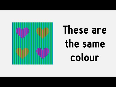 51d1714b7ed 3 optical illusions that exploit your visual system - YouTube