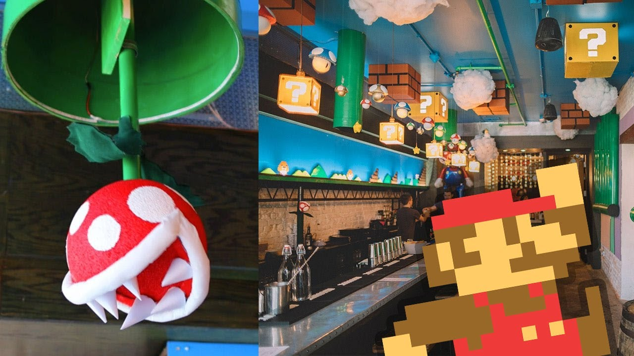 Mario Bar In Dc Cherry Blossom Pub Youtube