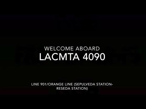 LACMTA 2016 New Flyer XN40 #4090 | Coin Lloyd's Transit Hub